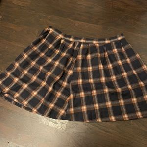 Plaid skirt from Modcloth!